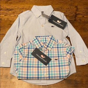 Vineyard Vines button down woven shirts